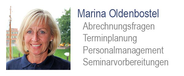 Marina Oldenbostel, Labormanagement Dental Design GmbH
